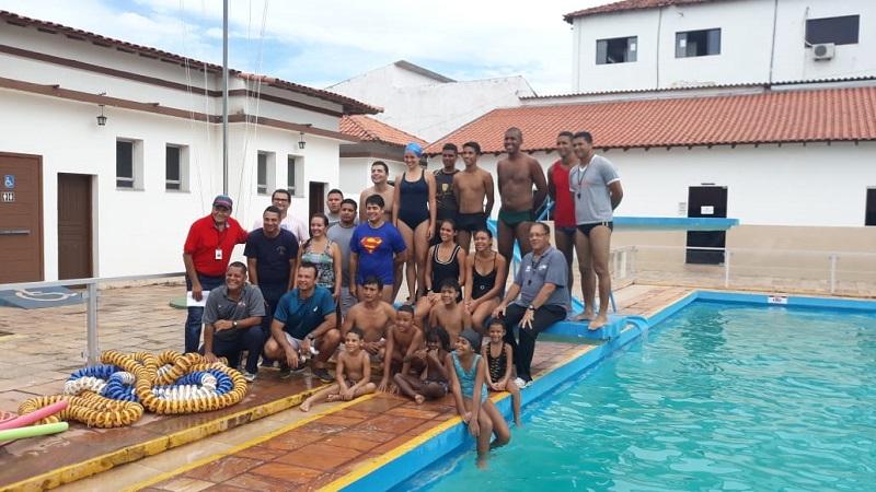 equipe participou do evento no Marisco